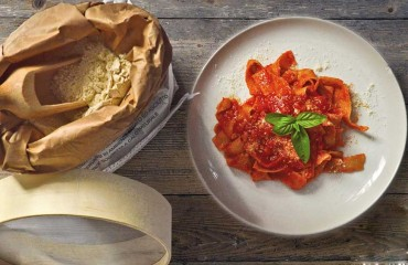 Tagliatelle all'Amatriciana
